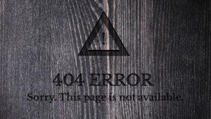 404 Error Redirect
