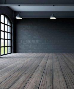 Refinished hardwood floors home wax buff shine
