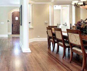 Custom inlays hardwood flooring